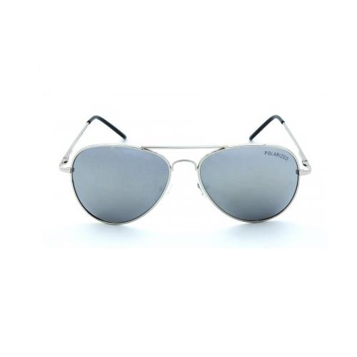 polarized-zonnebril-aviator-zilver