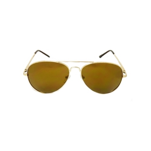 zonnebril-aviator-goud